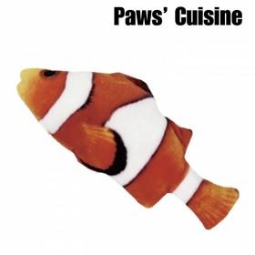 貓草玩具 - 仿真小丑魚