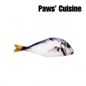 貓草玩具 - 仿真鹹魚