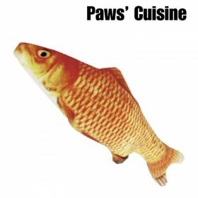 貓草玩具 - 仿真鯉魚