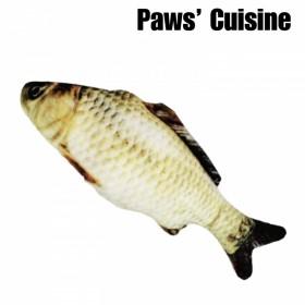 貓草玩具 -  仿真鯽魚
