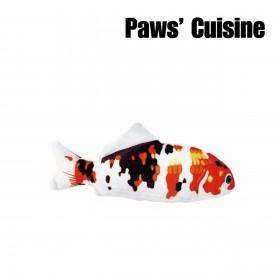 貓草玩具 - 仿真昭和三色錦鯉