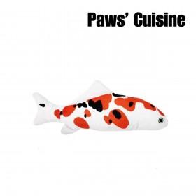 貓草玩具 - 仿真大正三色錦鯉